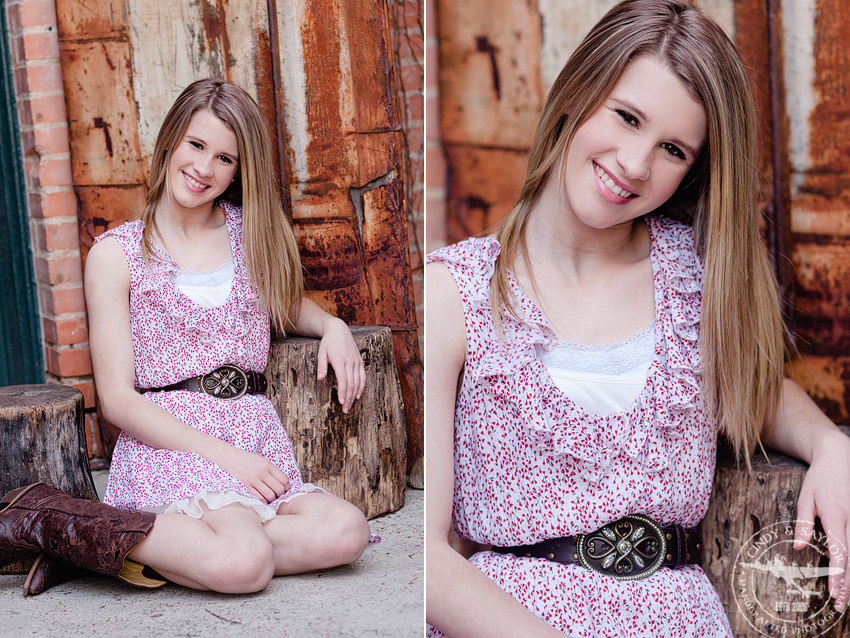 tween rustic headshots in dallas texas