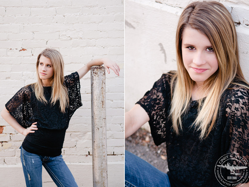 teen girl's headshots in mckinney on the square