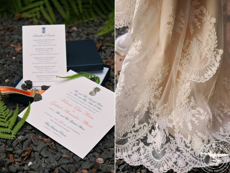 plano wedding at glen eagles country club stationary by Southern Fried Paper