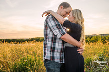 sunset engagement session at arbor hills nature preserve in plano texas photos by cindy and saylor photographers